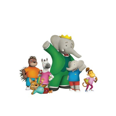 Sticker Babar et ses amis