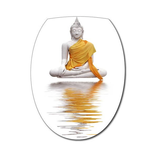 Sticker pour abattant wc d co bouddha - Stickers abattant wc ...