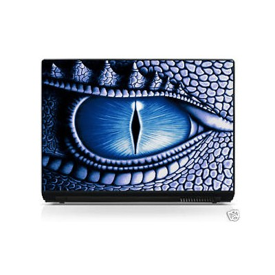 Sticker pc portable laptop skin Oeil
