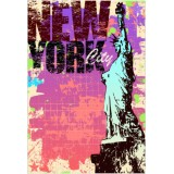 Sticker New york City 190x130 cm