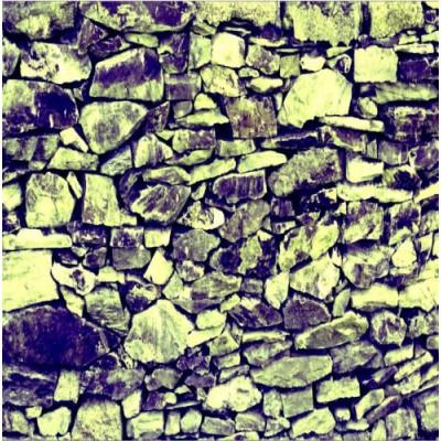Sticker mur de pierre effet filtre - Effet pierre sur mur ...