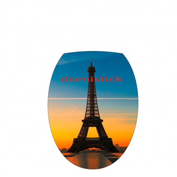 Sticker abattant wc tour eiffel - Stickers abattant wc ...