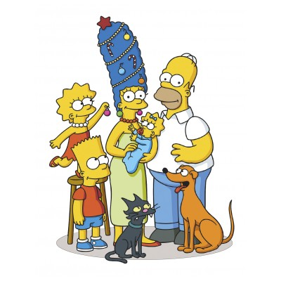 Sticker enfant Simpson