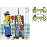 Stickers Skin PS3 + 2 manettes Simpson.
