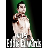 Sticker catcheur Eddie Edwards 120x90 cm.