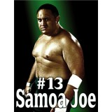 Sticker catcheur Samoa Joe 120x90 cm.