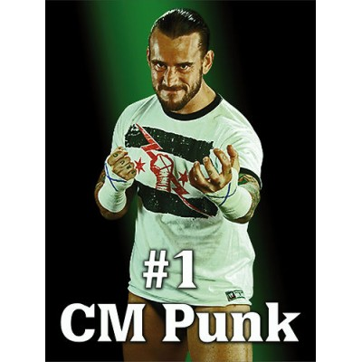 Sticker catcheur CM Punk