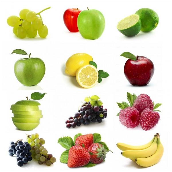 Sticker autocollant lave vaisselle fruits for Mon lave vaisselle fuit