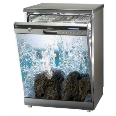 sticker autocollant d coration pour lave vaisselle 60 x 60. Black Bedroom Furniture Sets. Home Design Ideas