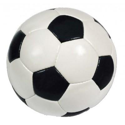 Stickers sport d coration ballon foot blanc et noir - Stickers muraux noir et blanc ...