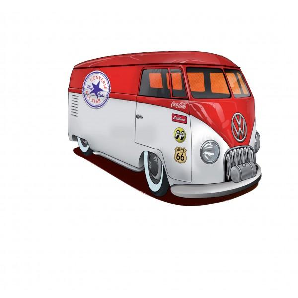 Stickers autocollant décoration Van vintage Volkswagen