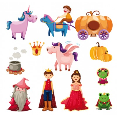 Sticker Personnages de contes