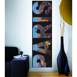Sticker mural Paris 160x48cm
