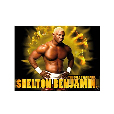 Sticker catch Shelton Benjamin