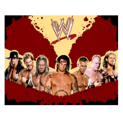 Sticker catcheurs WWE