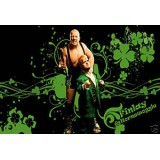 Sticker catch Finlay et Hornswoggle 37x27cm