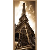Sticker porte Tour Eiffel 72*204 cm