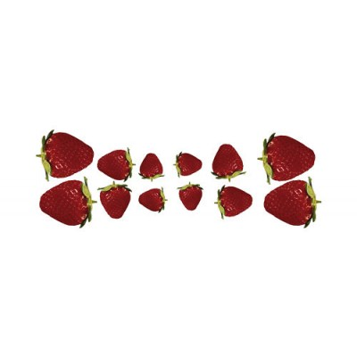 Sticker Fruit 12 Fraises
