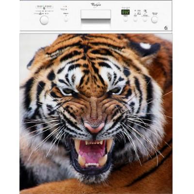 Pin tete de tigre dessin on pinterest - Image tete de tigre ...