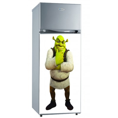 Sticker Frigidaire décoration Shrek