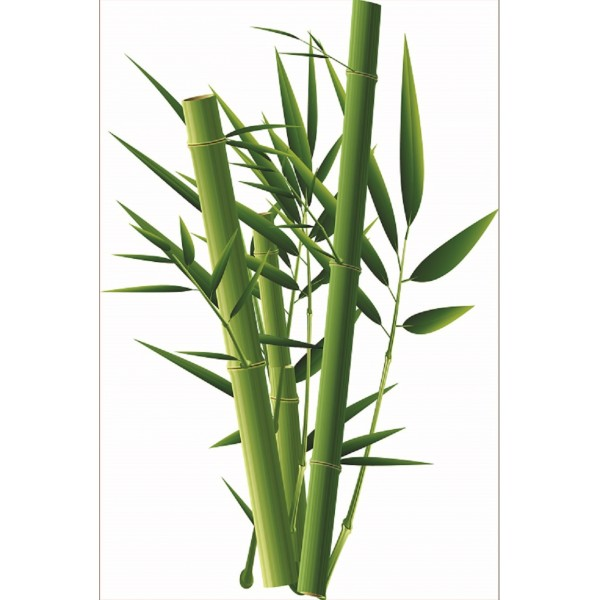 Sticker Pour Frigidaire Déco Bamboo