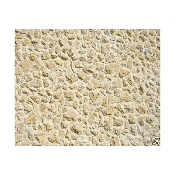 Sticker mur de pierres grises 100x80cm stickersmania for Mur de pierre interieur